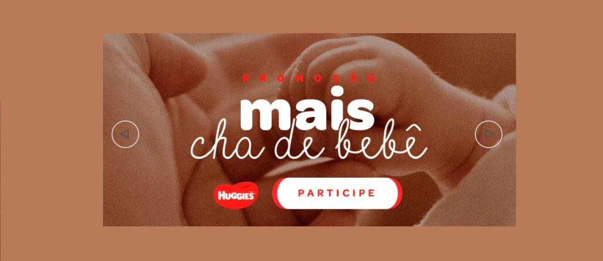 Nova Promoção Huggies 2020 Mais Chá de Bebê