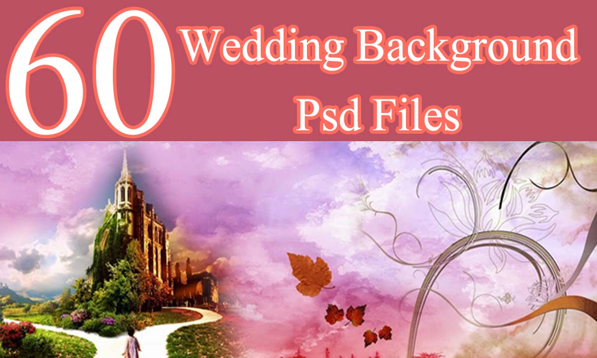 60 Wedding Background Psd Files 12x36 Download StudioPk