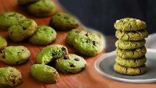 ev yapımı kolay ve pratik matcha kurabiye - KahveKafeNet