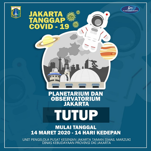 24 Lokasi Wisata DKI Jakarta ditutup dampak Virus corona