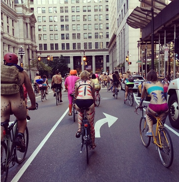 shaved Ride World Bike Naked