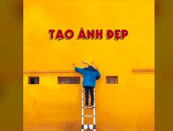 Chế ảnh - viết chữ lên bức tường tiệm bánh Cối xay gió Đà Lạt