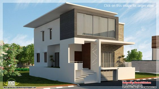 Mix Collection 3d Home Elevations Interiors Kerala Homes Design Modern