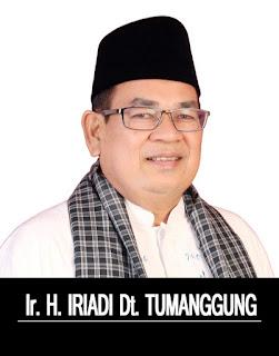 Nama Iriadi Dt Tumanggung Makin Populer di Bursa Pilkada Kabupaten Solok 2020