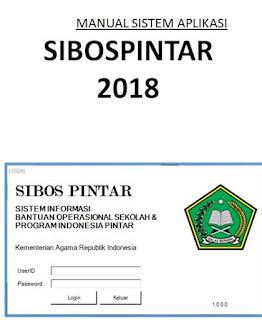 Download Manual/Panduan Pengoperasian Sistem Aplikasi SIBOSPINTAR Kemenag