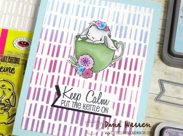 Dana Warren - Kraft Paper Stamps - The Cat's Pajamas Funky Fossil Designs