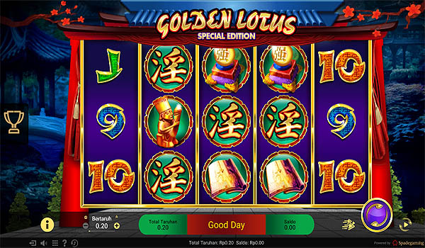 Main Gratis Slot Indonesia - Golden Lotus Spadegaming