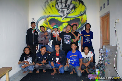 Komunitas Airbrush Indonesia Chapter Jogja - Jateng