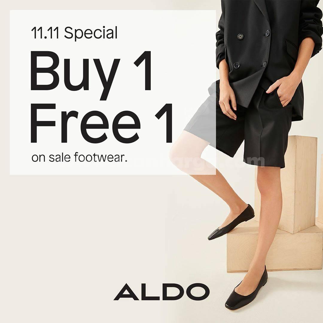 Promo Aldo Shoes 11.11 Special Buy 1 Get 1 Free On Sale Footware