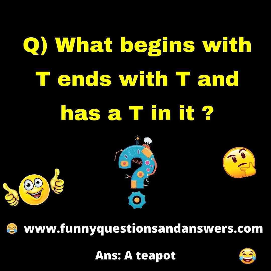 Funniest Riddles And Answers with Words