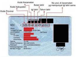 Previsión menta vehículo  TAHUKAH ANDA, APA ITU NOMOR INDUK KEPENDUDUKAN (NIK)....??? | Dinas  Kependudukan dan Pencatatan Sipil