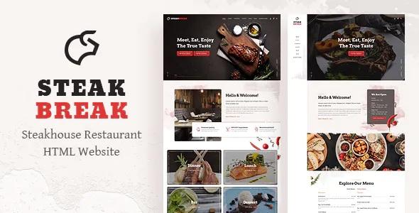 Best Steakhouse Restaurant Template