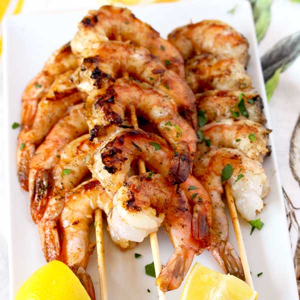 simple shrimp skewers recipe