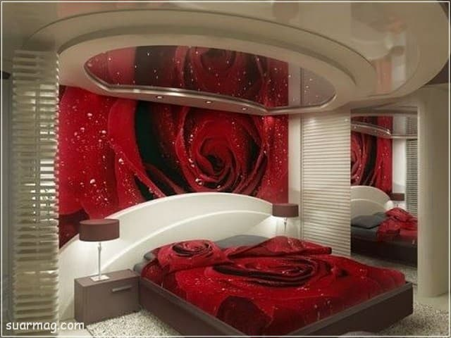 اسقف جبس بورد حديثة غرف نوم 14   Bedrooms Modern Gypsum Ceiling 14