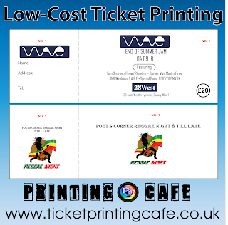Cheap Ticket Printing