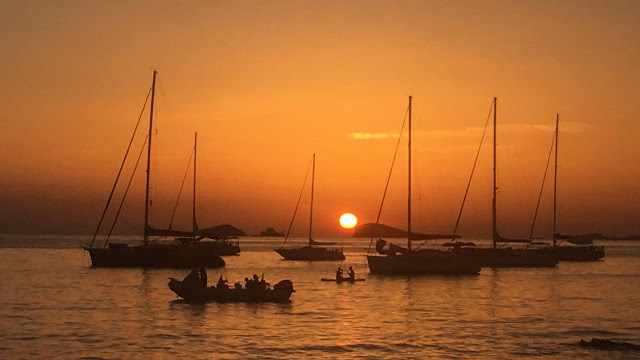 una cartolina da Ibiza