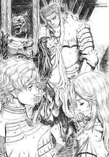 """Reseña de """"BERSERK: El Caballero del Dragón de Fuego"""" de Makoto Fukami - Panini Comics"""