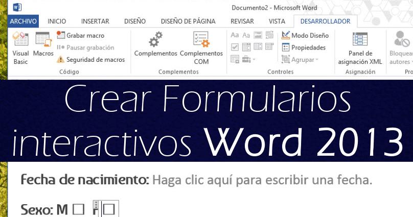 Alfabetización Digital Avanzada - Ayuntamiento Bani: Formularios en ...