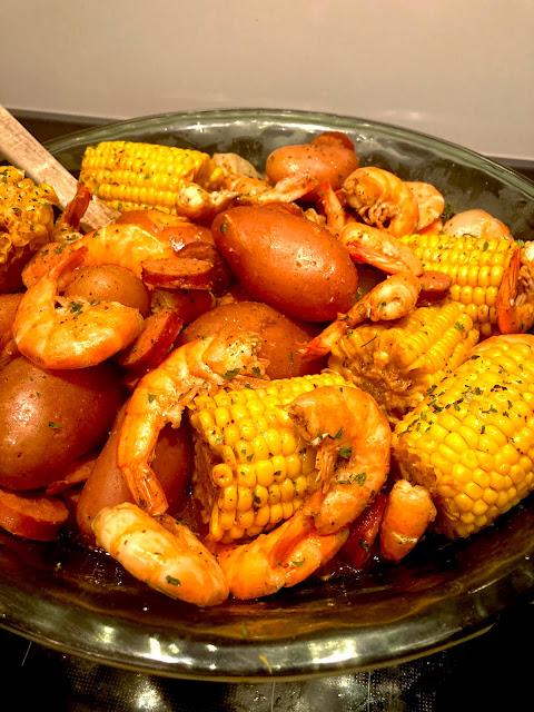 Instant Pot Shrimp Boil- Lauren@Mizhelenscountrycottage