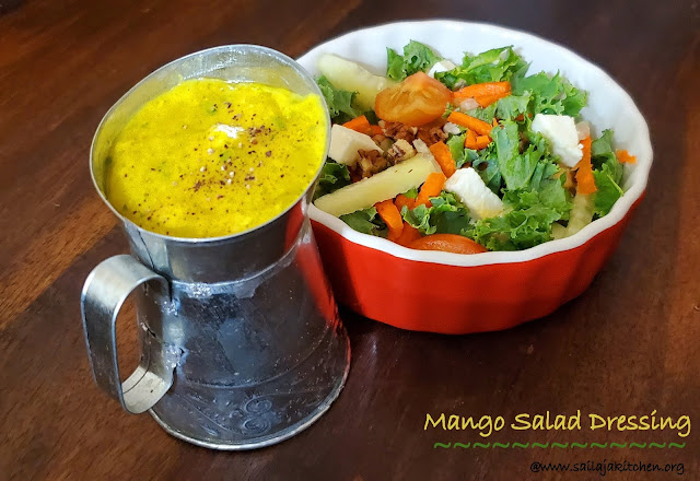 images of Mango Salad Dressing / Sweet and Spicy Mango Salad Dressing - Mango Recipes