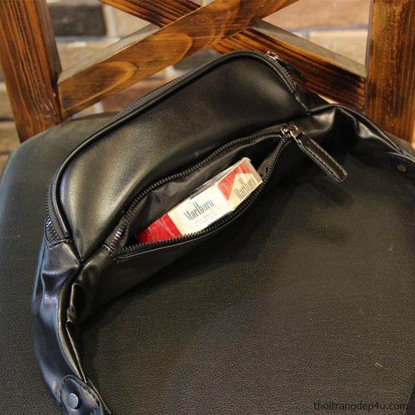 Túi đeo chéo bao tử Simple Bag thời trang cao cấp DF285