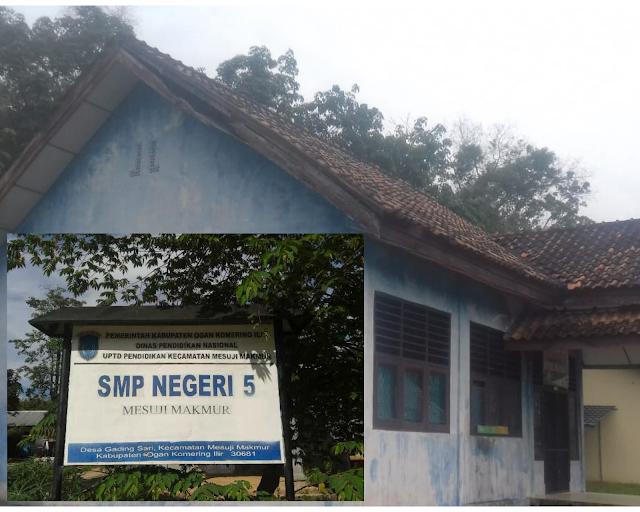 Kekurangan RKB Dan Fasilitas lainya SMPN 5 Mesuji Makmur harapkan segera DiBangun