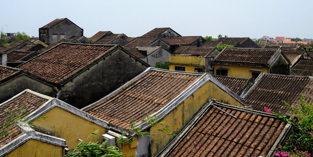 Rooftop views in Hoi An Vietnam
