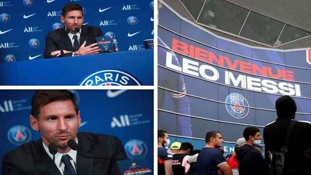 París recibe con euforia a Messi (+FOTOS)