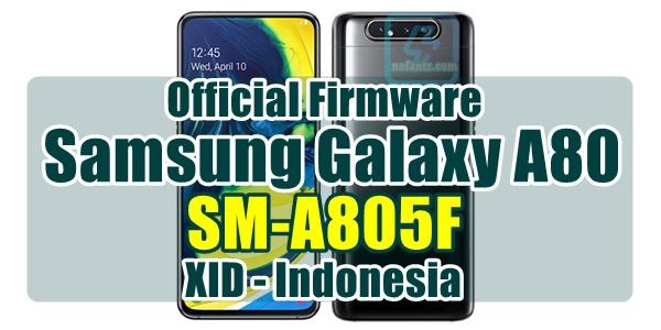 firmware samsung a80 bahasa indonesia xid