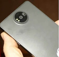Nokia 8 showing back camera