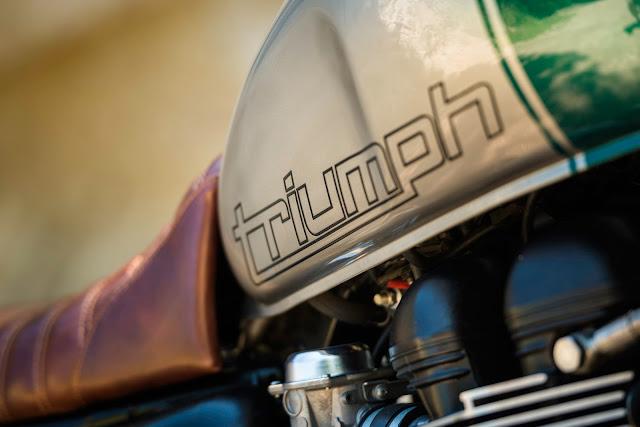 Triumph Scrambler 2014 By North East Custom Hell Kustom