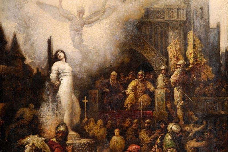 Сожжение Жанны Дарк | Фотоньюс пост