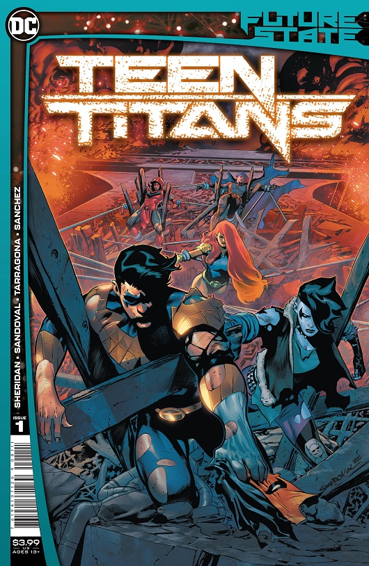 Cover of Future State: Teen Titans #1