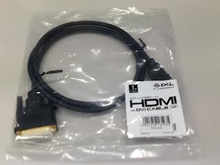 Planex HDMI DVI変換ケーブル