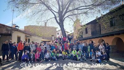 Geolodía 2019, Salamanca, Monsagro