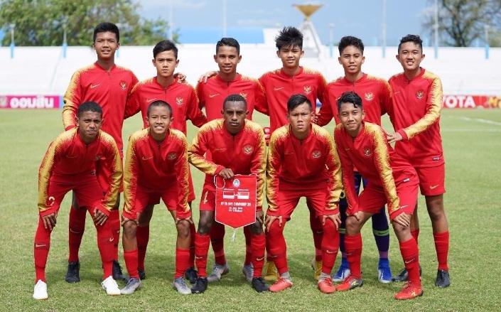 Kalahkan Montenegro, Tim nasional U-15 Incar Korsel
