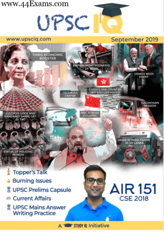 UPSC-IQ-Current-Affairs-September-2019-For-All-Competitive-Exam-PDF-Book