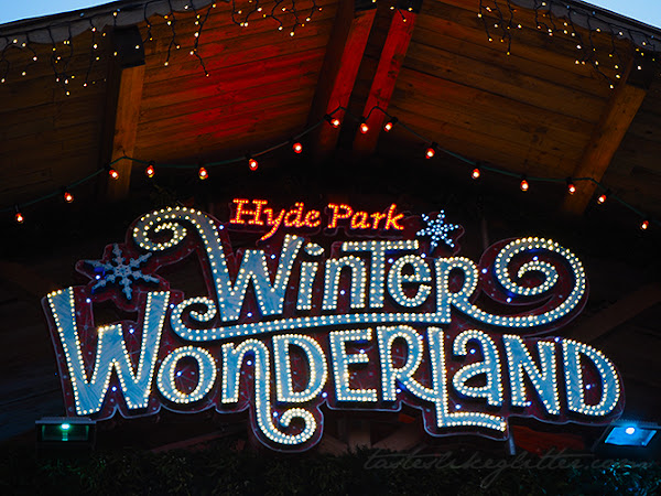 Hyde Park Winter Wonderland.