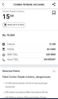 kenapa paket combo 15gb telkomse hilang