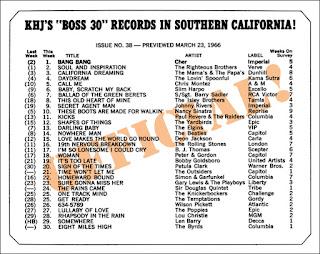 KHJ Boss 30 No. 38 - March 23, 1966