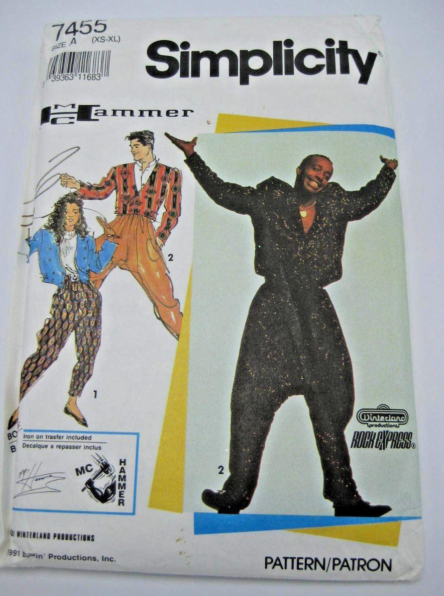 ernie k designs the return of the big pants hammer time