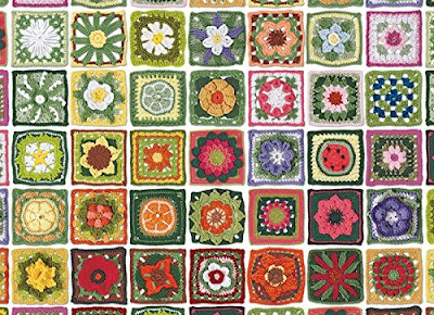 CobbleHill Granny Squares Jigsaw Puzzle