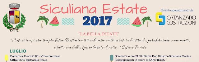 Siculiana Estate: il programma completo
