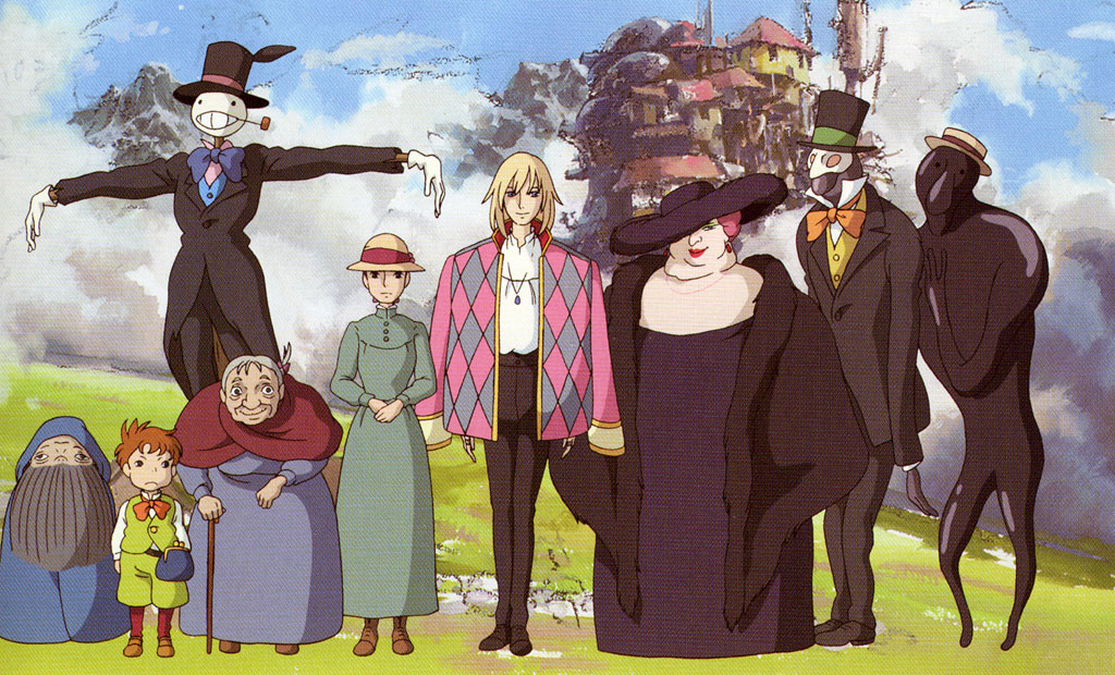 Living Lines Library Ïウルの動く城 Howl S Moving Castle 2004 Character Design