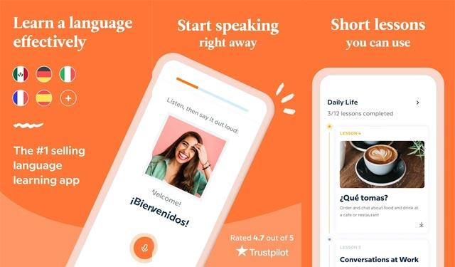 Babble English Aplikasi Belajar Bahasa Inggris