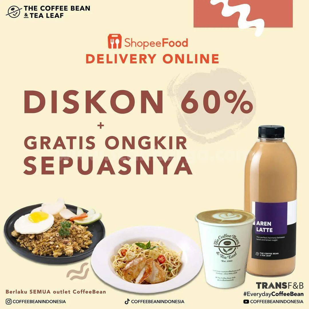 The Coffee Bean Promo Shopee Food Diskon hingga 60%