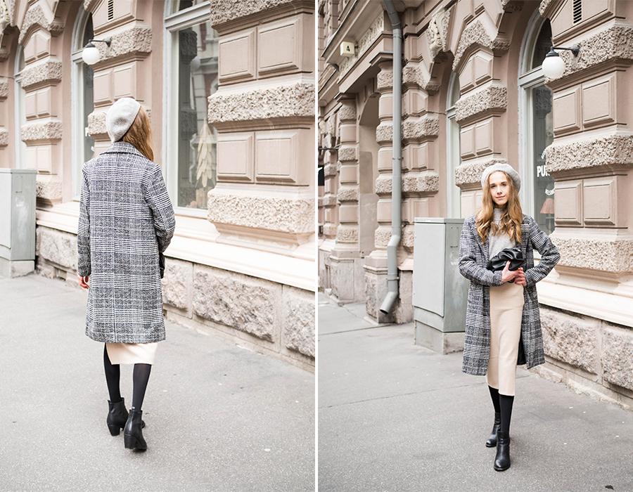Pariisilaistyylinen asu syksyyn // Paris inspired autumn outfit