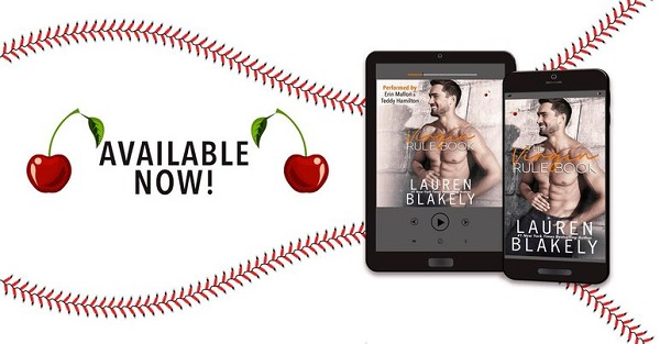Available Now! The Virgin Rule Book by Lauren Blakely.