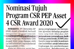 Nominations for Seven CSR Programs PEP Asset 4 CSR Award 2020