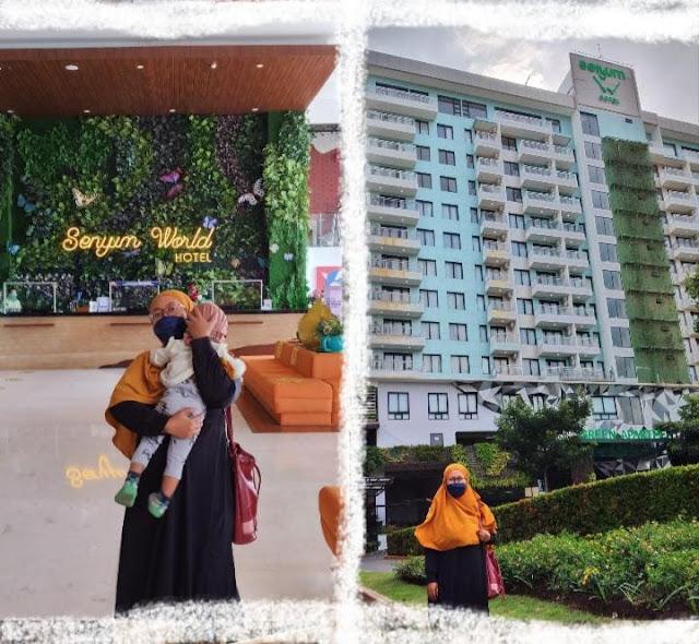 Staycation di senyum world hotel